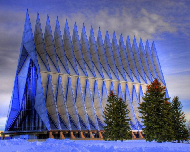 most beautiful places in america air focre academy chapel