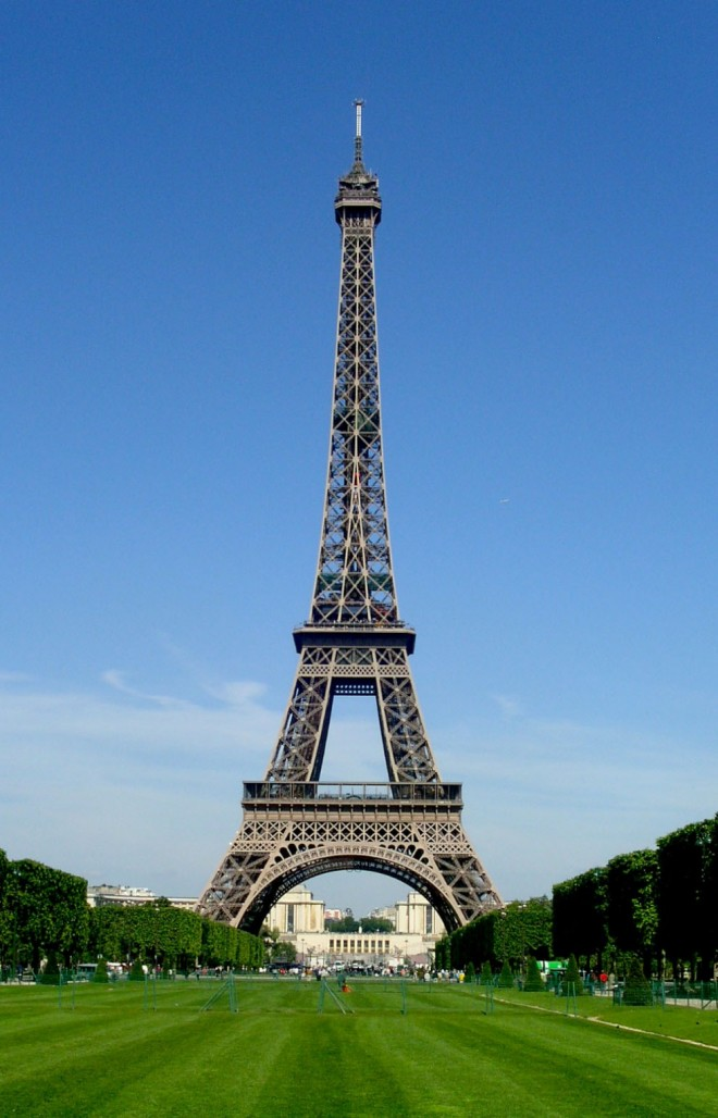 most beautiful places in america eiffel tower