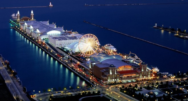 most beautiful places in america navy pier
