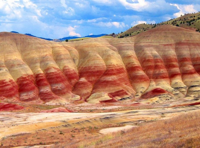 most beautiful places in america painted hills