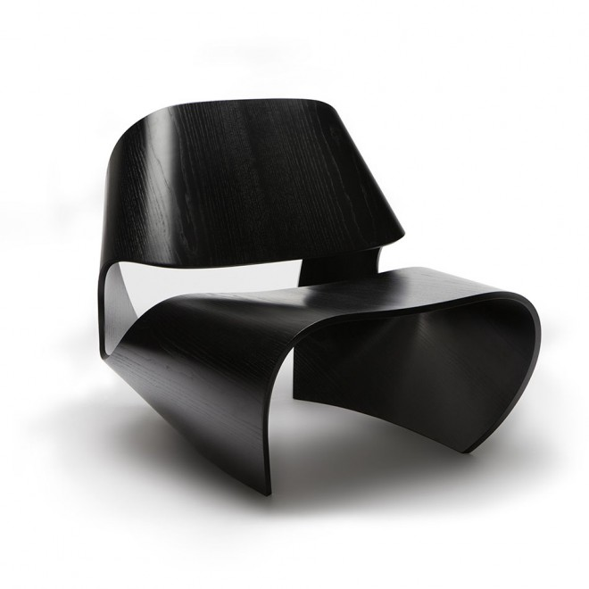 funky furniture bent chair
