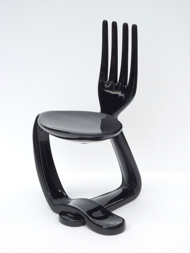 funky furniture fork chair