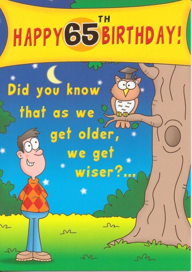 funny birthday wishes sixtyfive