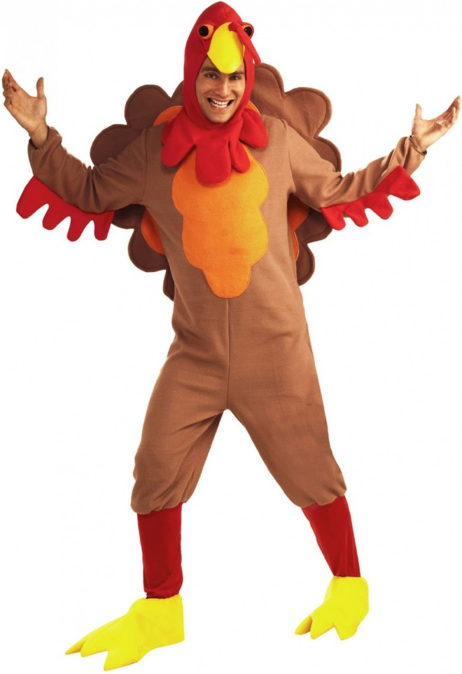 funny costumes chicken