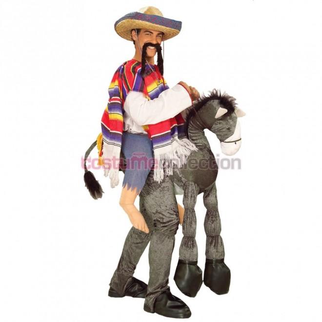 funny costumes donkey rider
