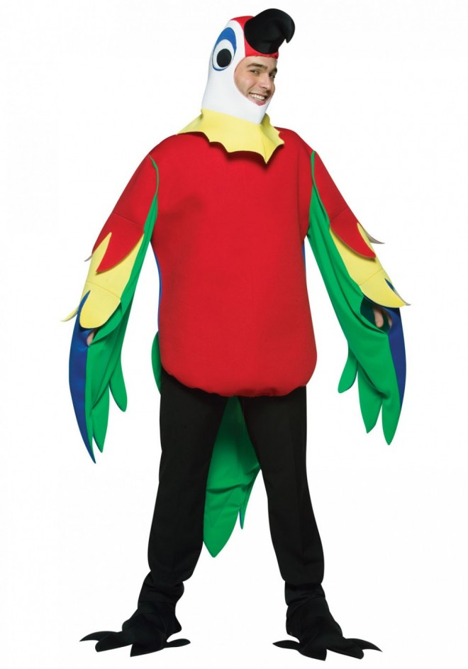 funny costumes parrot