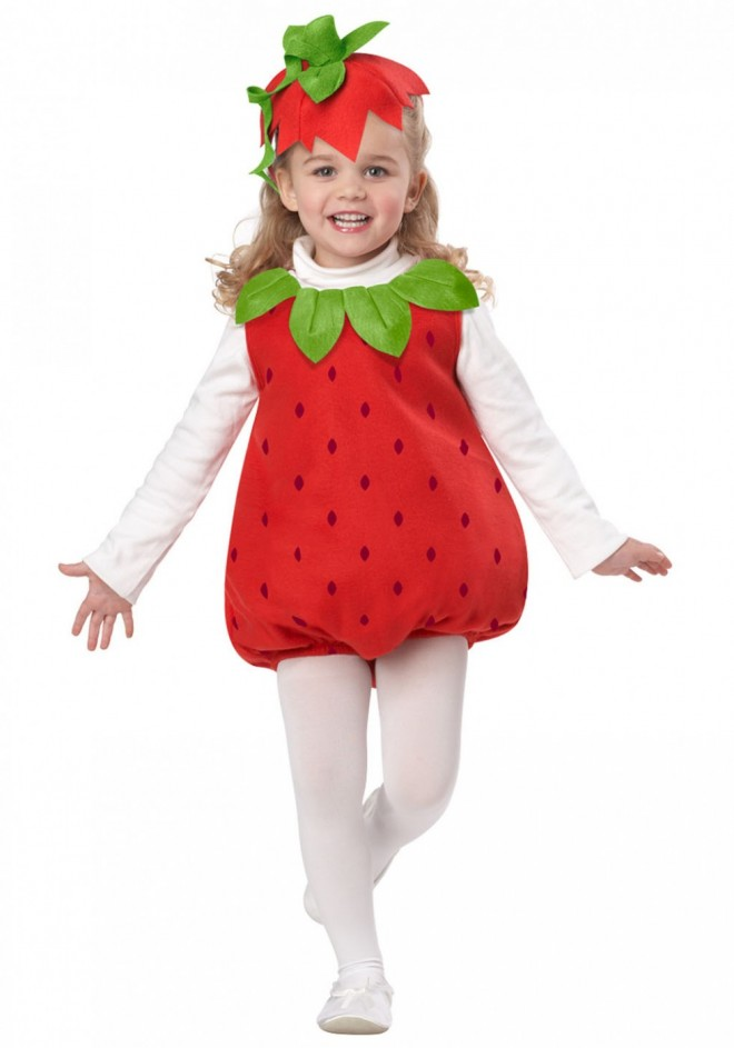 funny costumes strawberry