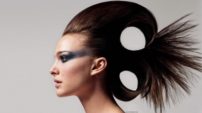 funny hairstyles holes