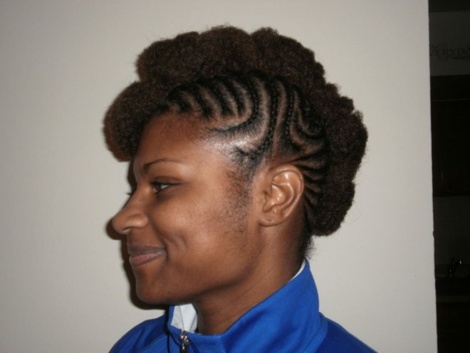 funny hairstyles curl