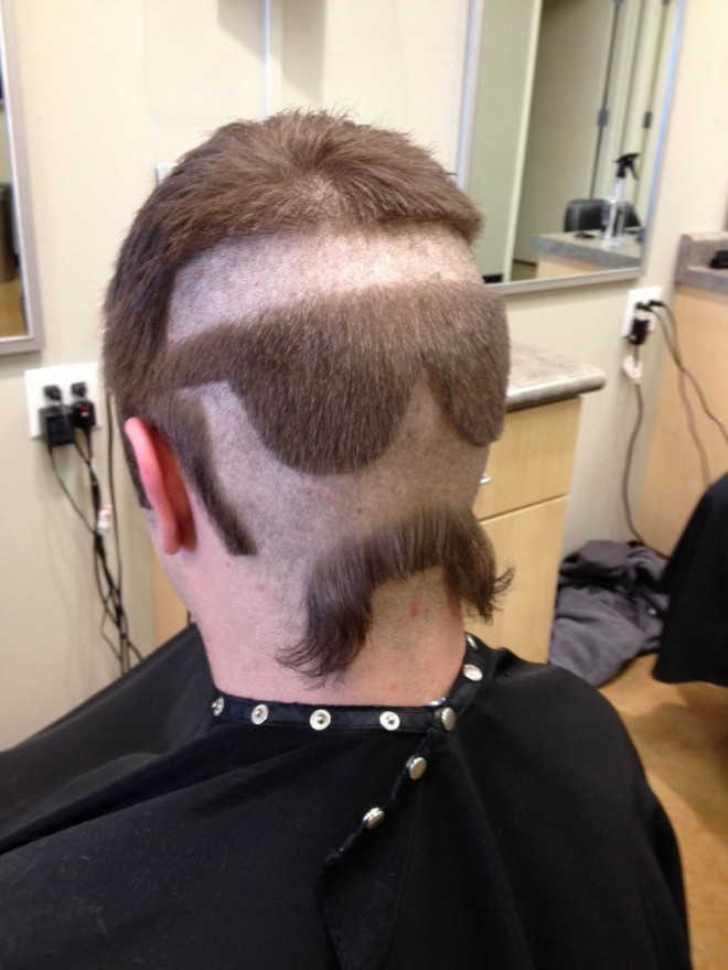 funny hairstyles men