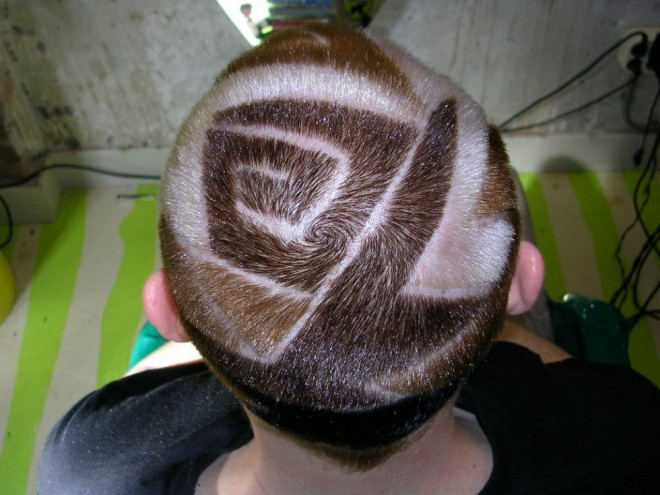 funny hairstyles shave