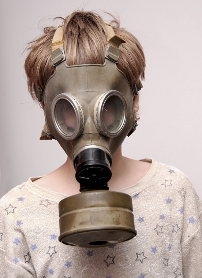 funny mask gas