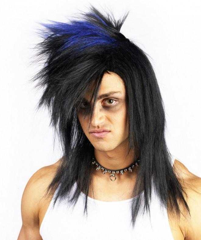funny wigs rocker