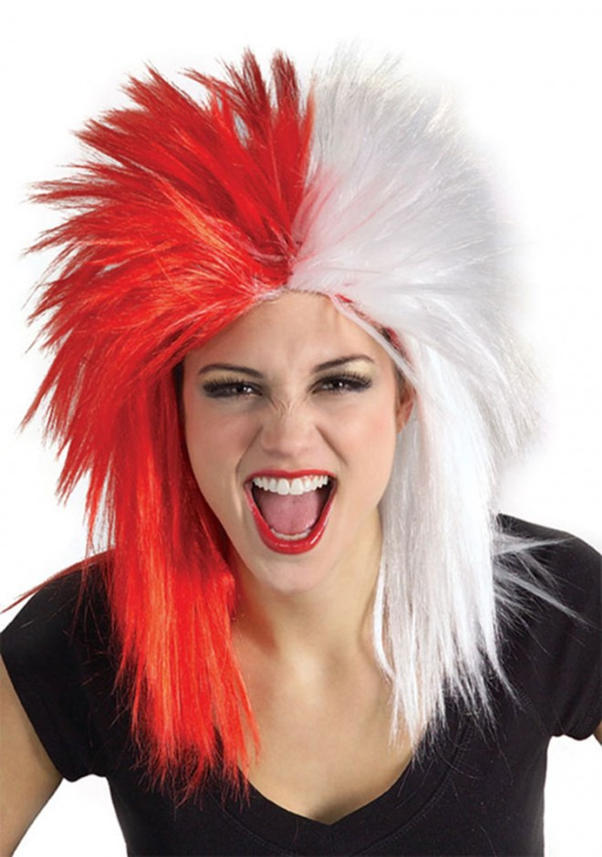 funny wigs sports fanatics