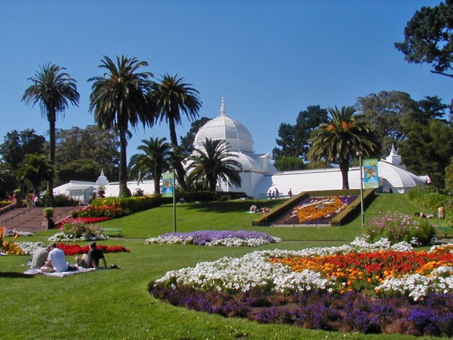 places to visit in california golden gate park