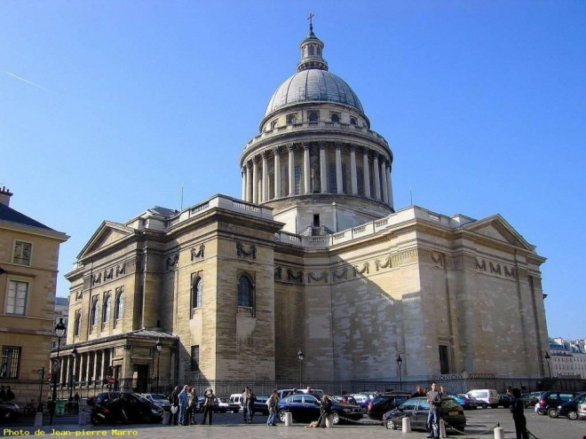 places to visit in paris pantheon