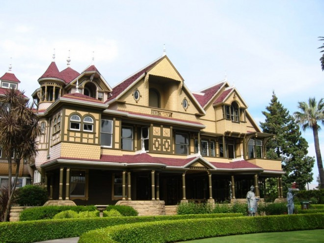 places to visit in california winchester mystery house