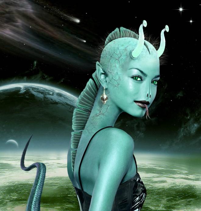Alien-Seductress