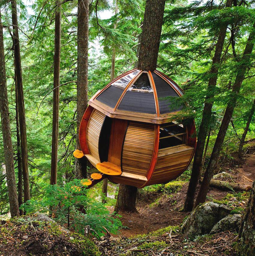 tree house cool