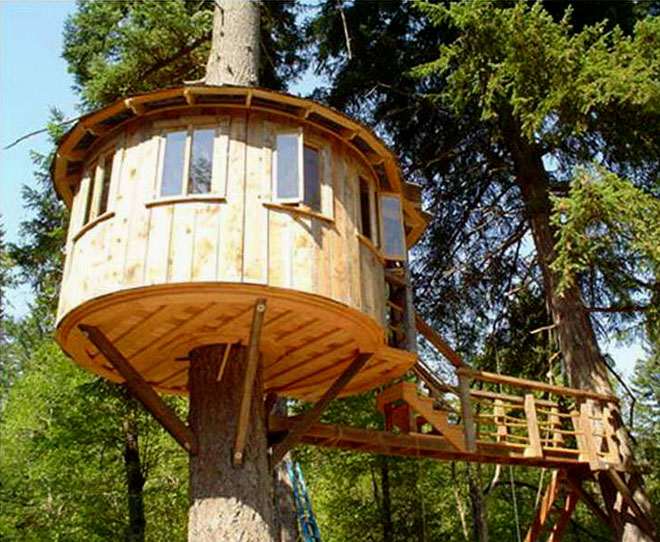 25 Creative Tree House Plans Around The World