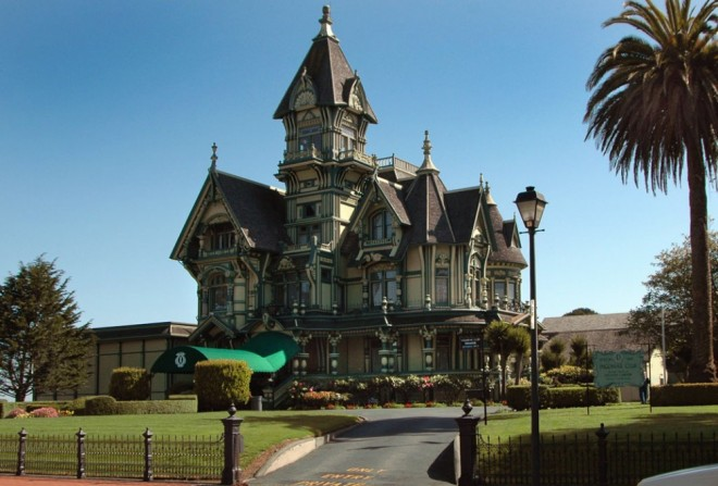 most beautiful places in america carson mansion eureka california