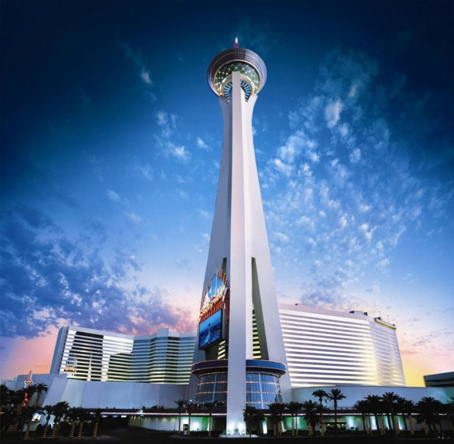 most beautiful places in america stratosphere tower las vegas