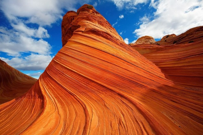 most beautiful places in america wave coyote buttes arizona