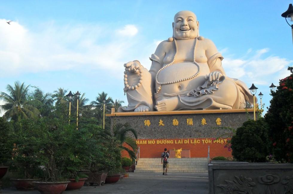 bo dai laughing buddha vietnam