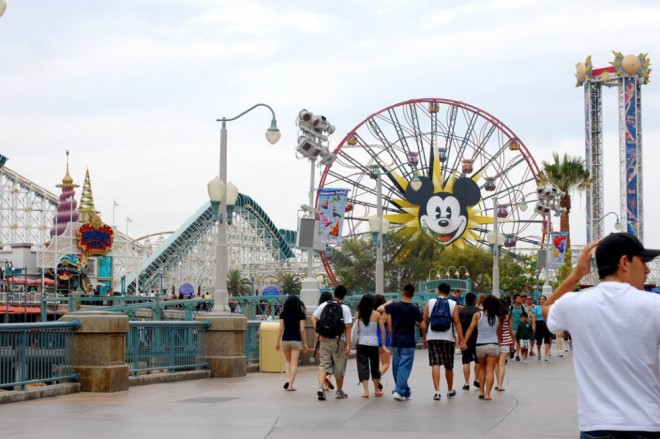 places to visit in california disney california adventure