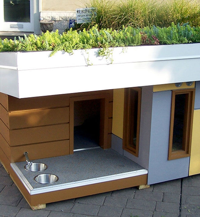 20 beautiful and funny dog house plans for your inspiration for Architecture and design dog house