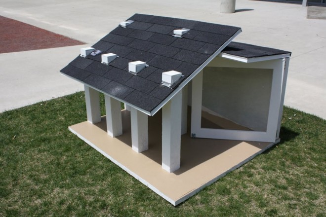 20 beautiful and funny dog house plans for your inspiration for Modern dog house designs