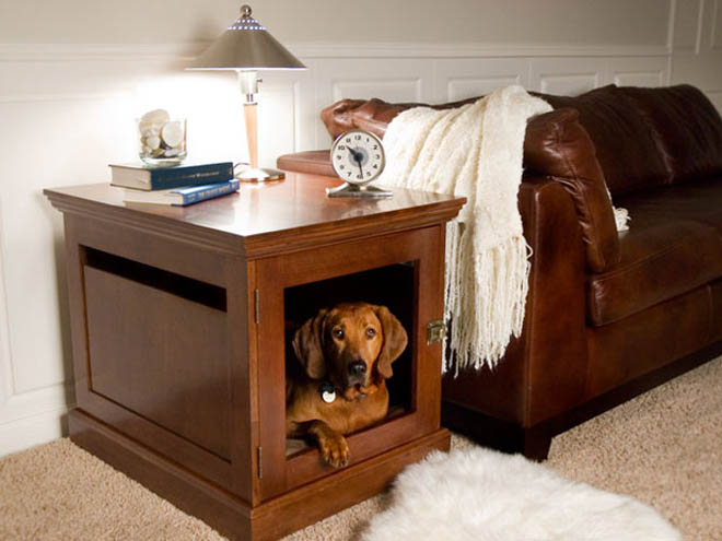 dog house plans table