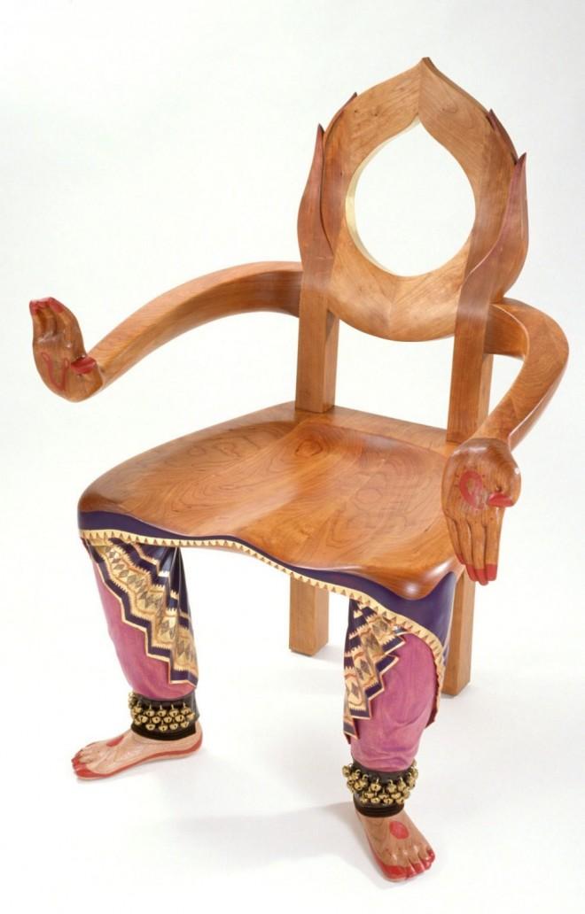 funky furniture dancer chair