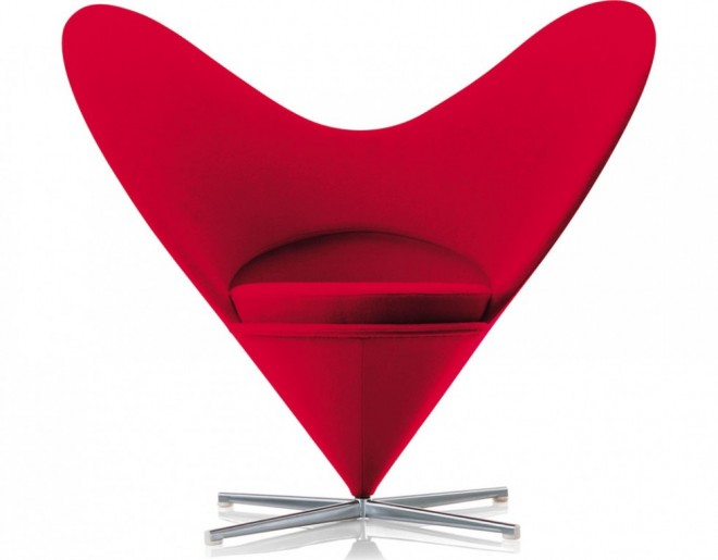 funky furniture heart chair