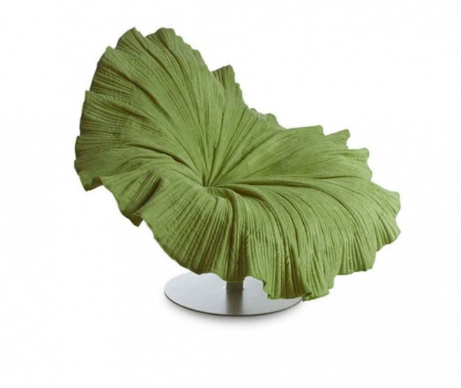 funky furniture leaf chair