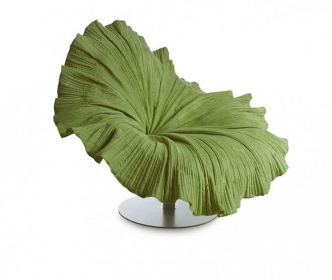 funky furniture leaf chair