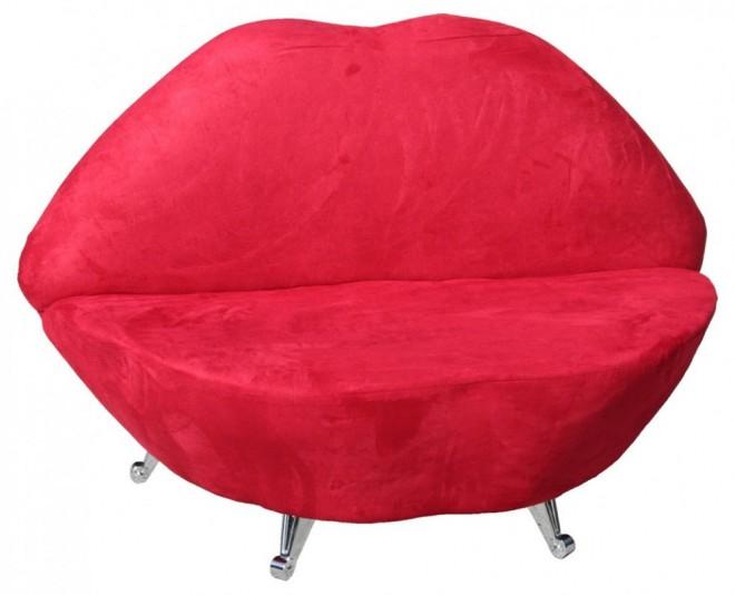 funky furniture lip chair