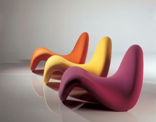 funky furniture tongue chair