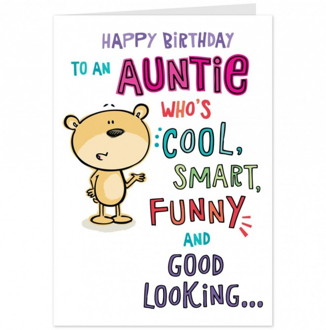 Happy Birthday Aunt Quotes  LZK Gallery