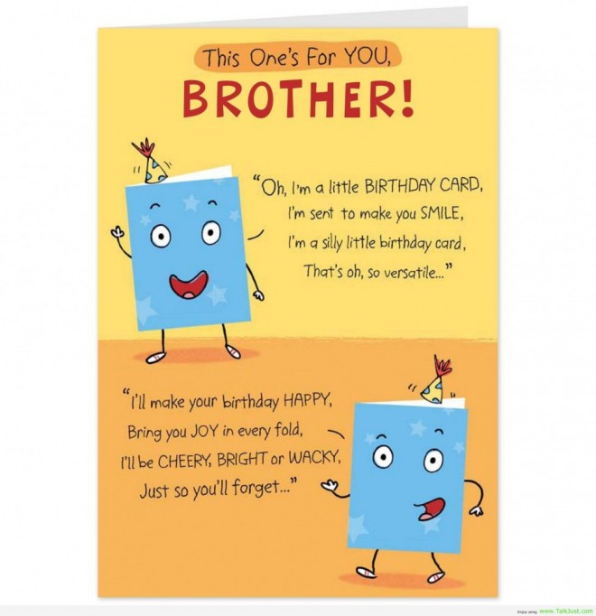 20 Of the Best Ideas for Funny Brother Birthday – Home ...