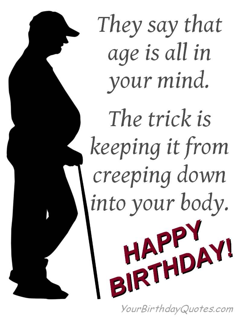 funny birthday quotes mind