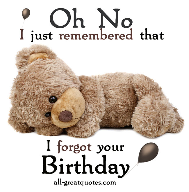 funny birthday wishes belated