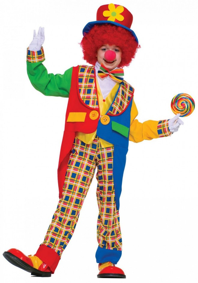 funny costumes clown