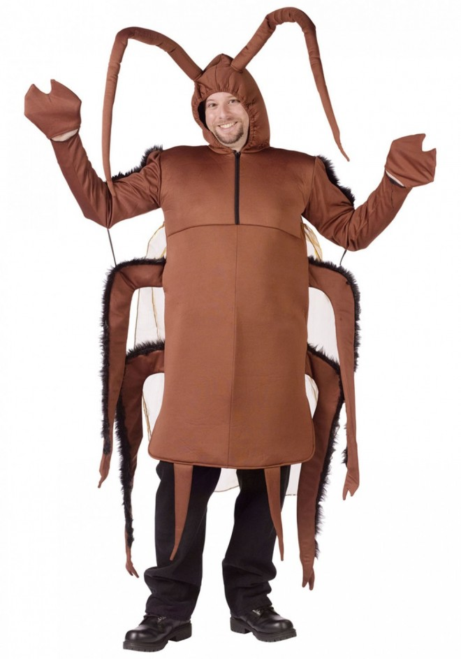 funny costumes cockroach