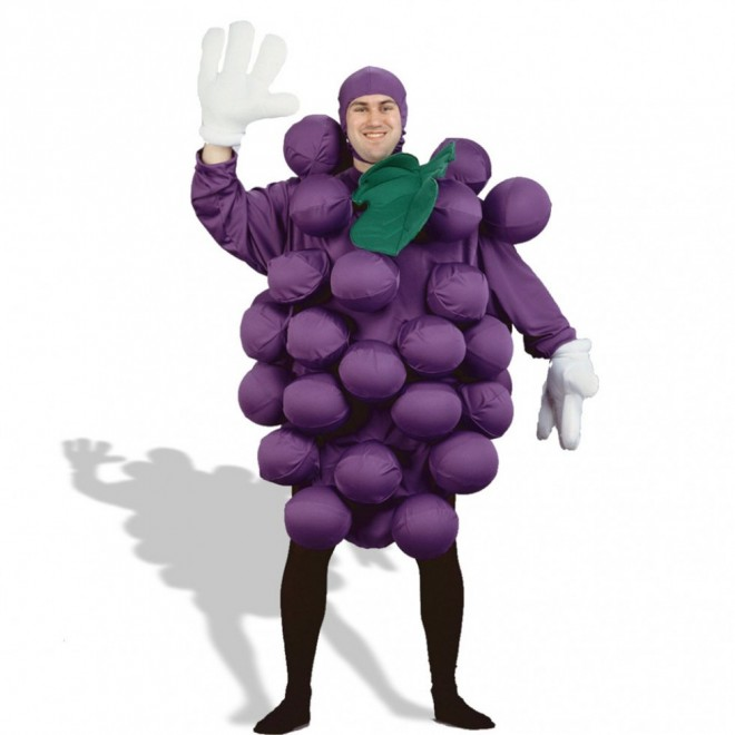 funny costumes grapes