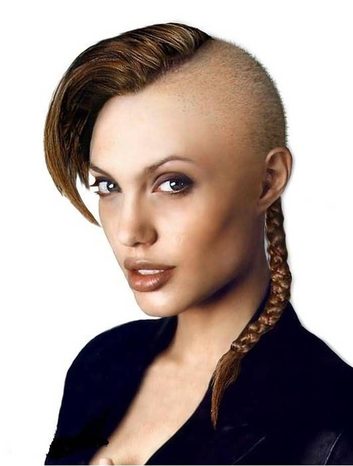 funny hairstyles bald