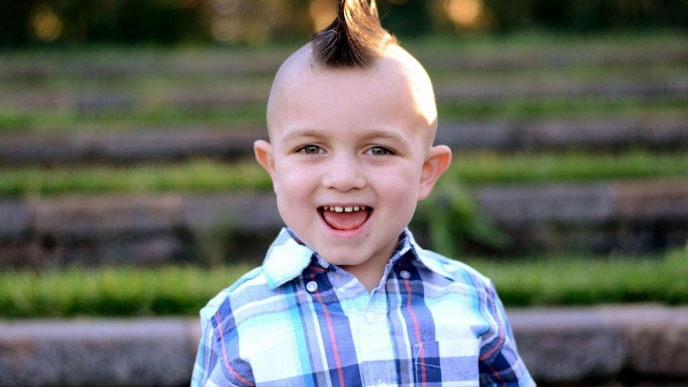 funny hairstyles cute boy