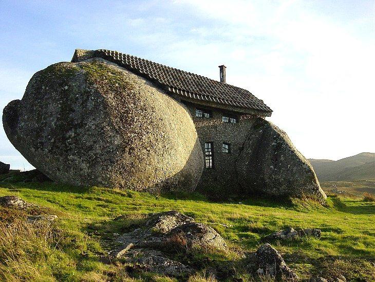 funny house stone