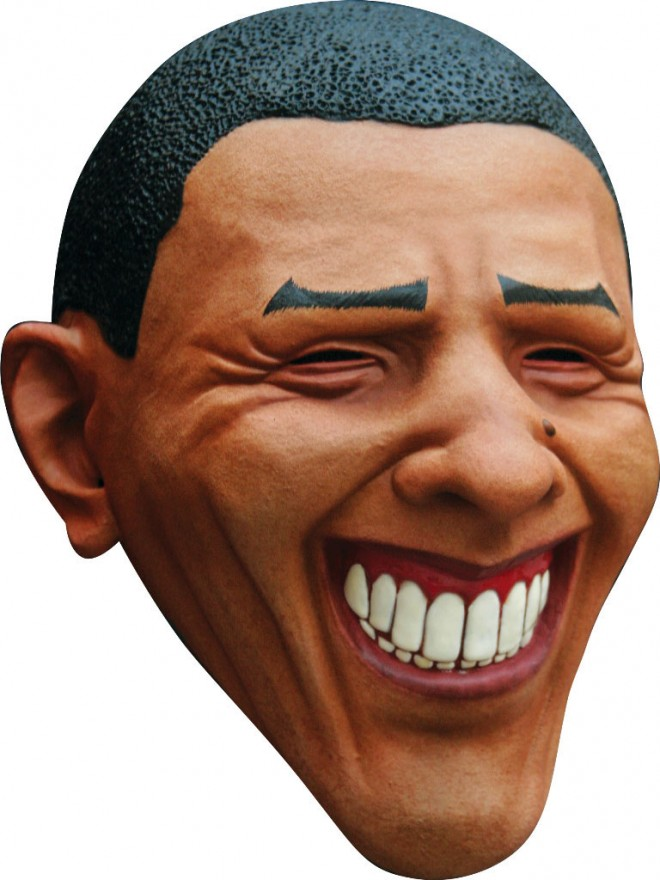 funny mask barack obama
