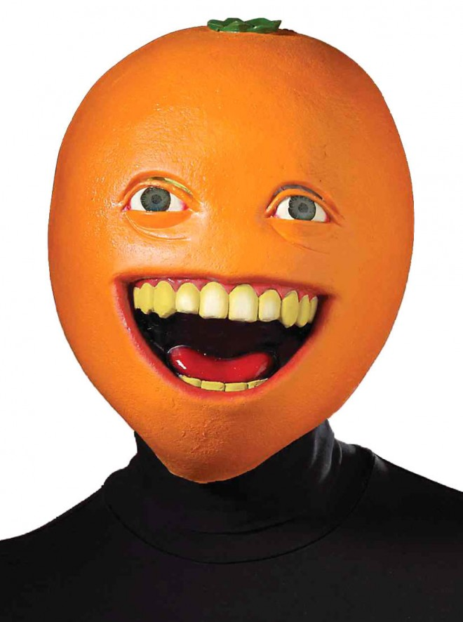 funny mask orange